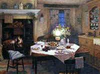 Supper by Lamplight